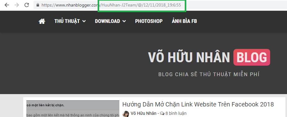 Hướng Dẫn Tạo Link Động Ở Trang Chủ Chuyên Nghiệp Trên Blogspot
