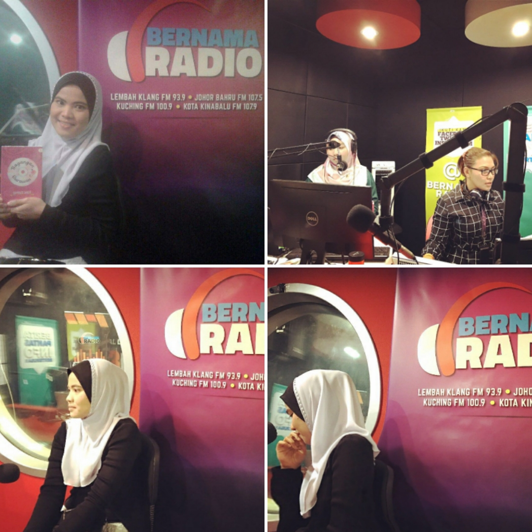 Live 'on air' di konti bernama radio (23 mac 2017)