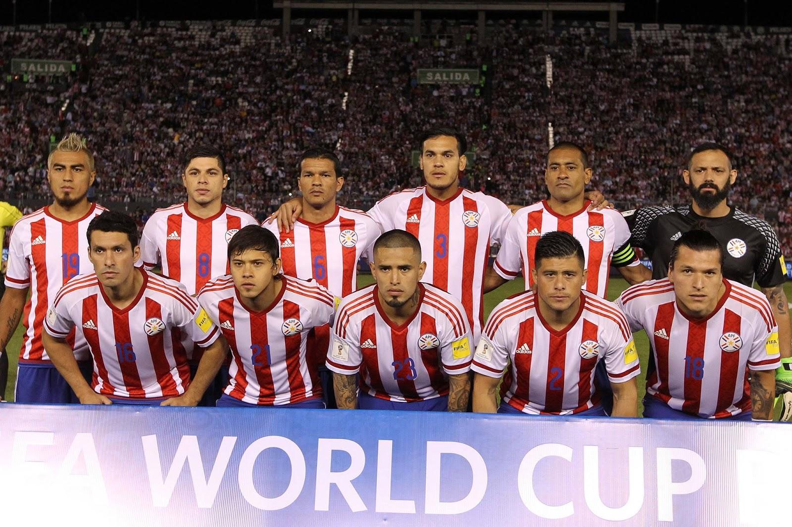 Formación de Paraguay ante Chile, Clasificatorias Rusia 2018, 1 de septiembre de 2016