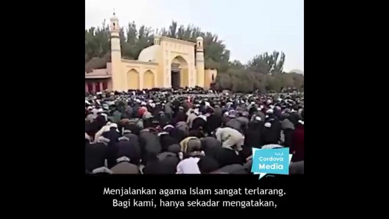 Saat Merasa Malas, Ingatlah Perjuangan Muslim Uyghur untuk Ibadah