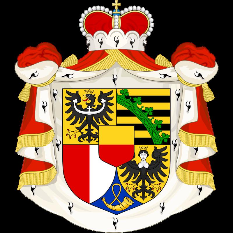 Logo Gambar Lambang Simbol Negara Liechtenstein PNG JPG ukuran 800 px