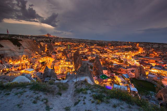 Tramonto a Goreme-Cappadocia