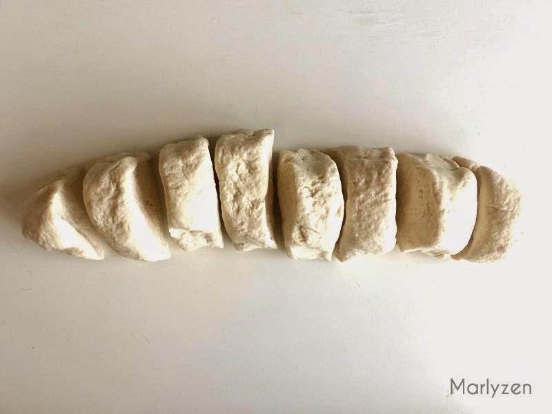 Pâte pour bánh bao.