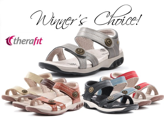 Enter to Win a Pair of Therafit Grace Sandals!
