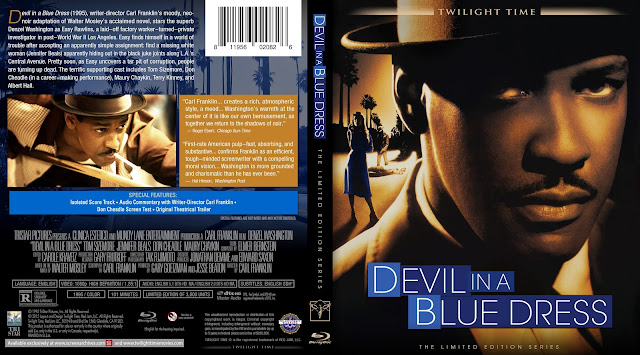 Devil In A Blue Dress Bluray Cover
