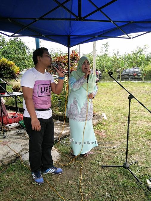Undang Luak Johol datang meraikan pengantin