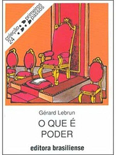 O que é poder Gérard Lebrun