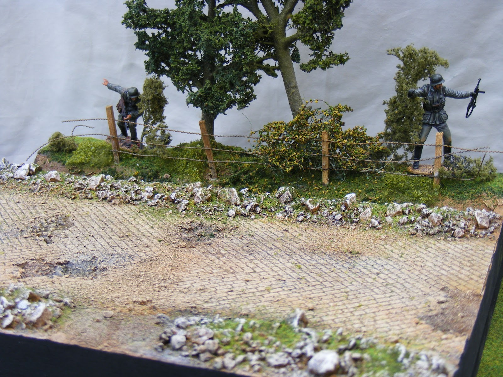 Terrain And Toy Soldiers March 2012