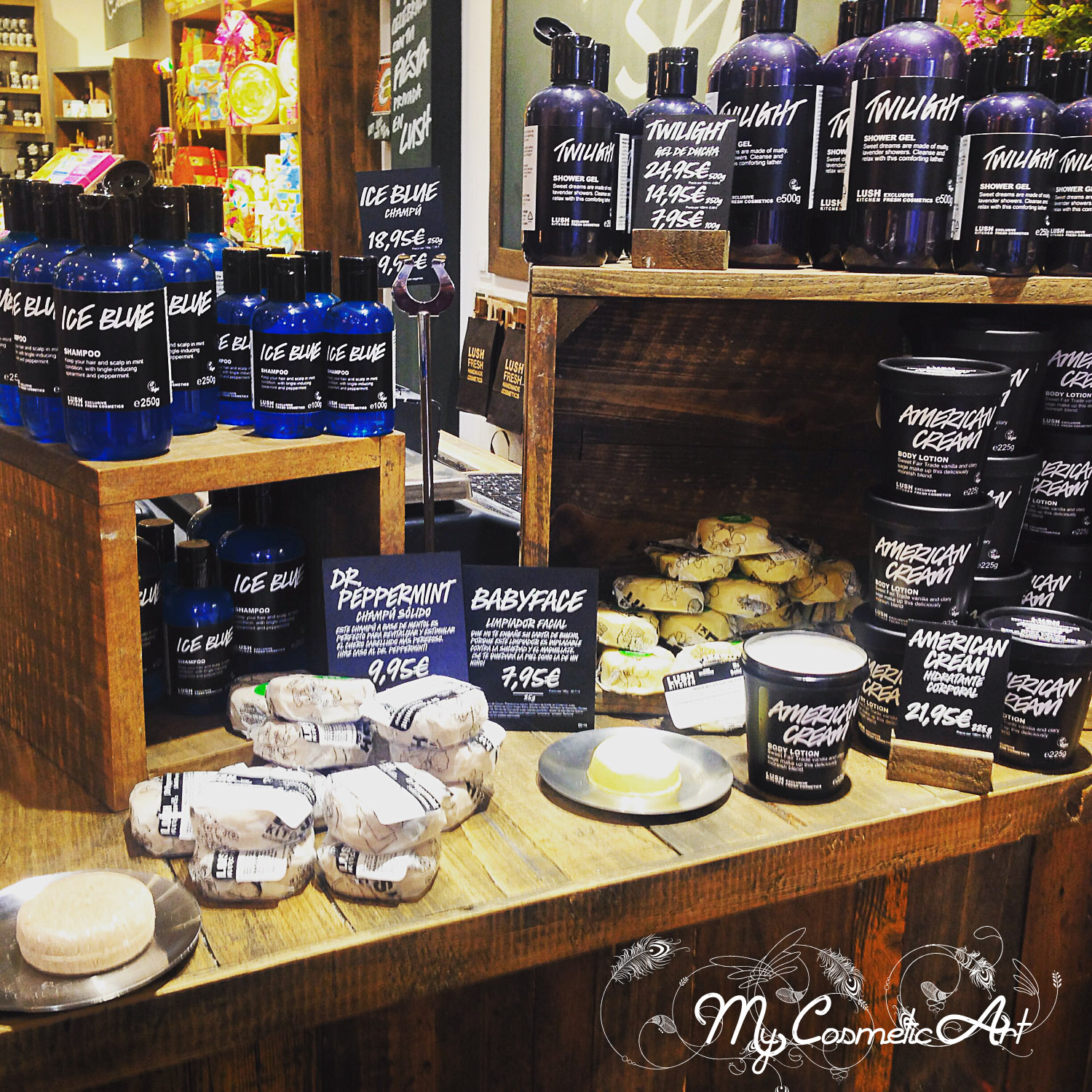 Lush Kitchen en Madrid - My Cosmetic Art