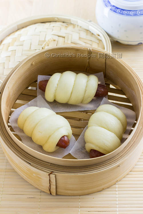 臘腸卷 Steamed Chinese Sausage Rolls01