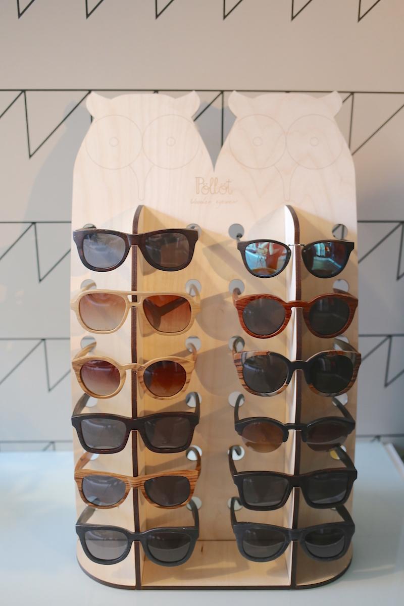 pöllöt wooden eyewear cilla's lifestyleliike sisustus muoti ekologinen eettinen