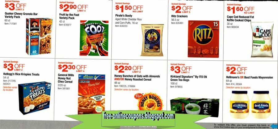 Free food coupons uk 2018