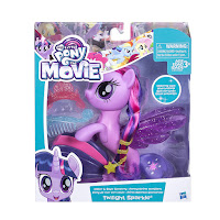 My Little Pony the Movie Twilight Sparkle Glitter & Style Seapony