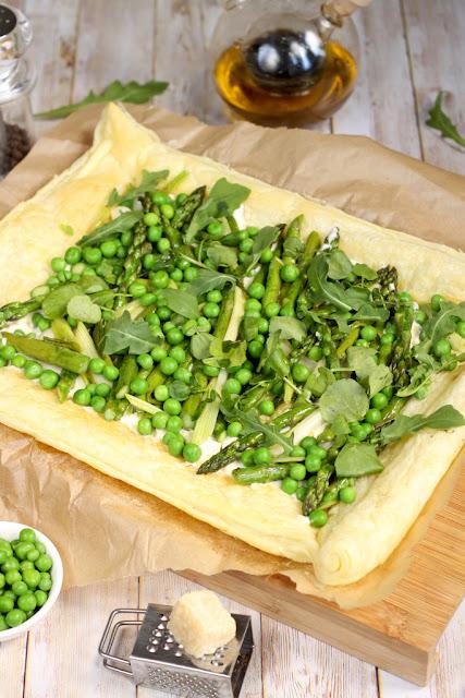 zielona tarta