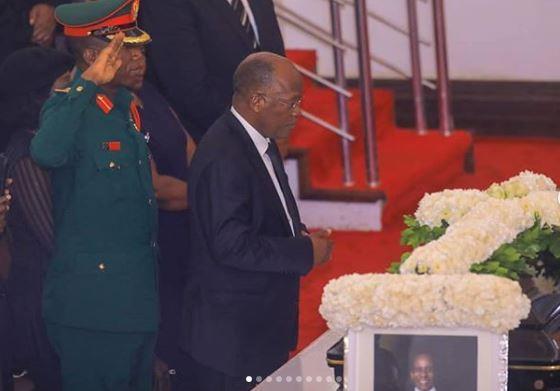 Magufuli Awaongoza Mamia Kumuaga Mengi Dar