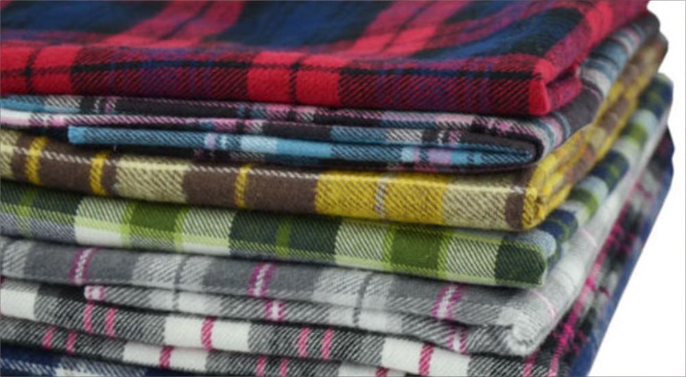 Tekstur Bahan Flannel