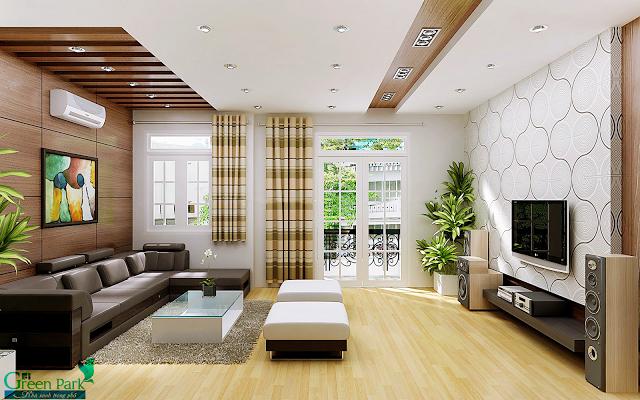 thiết kế căn hộ tại dự án PD Green Park