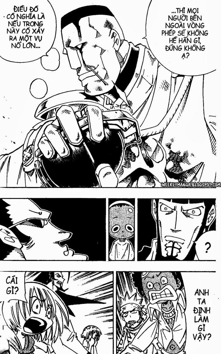 Shaman King [Vua pháp thuật] chap 139 trang 14