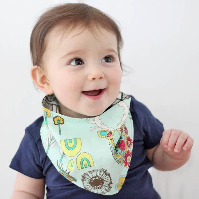 DIY Baby Bandana Bib