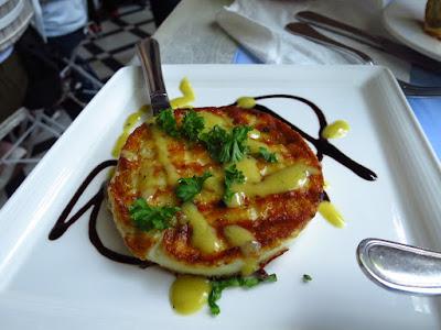 Blu Kouzina, talagani cheese
