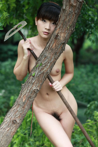 Chinese Naked Model 國模wudy Outdoor Photoshoot Vol.02