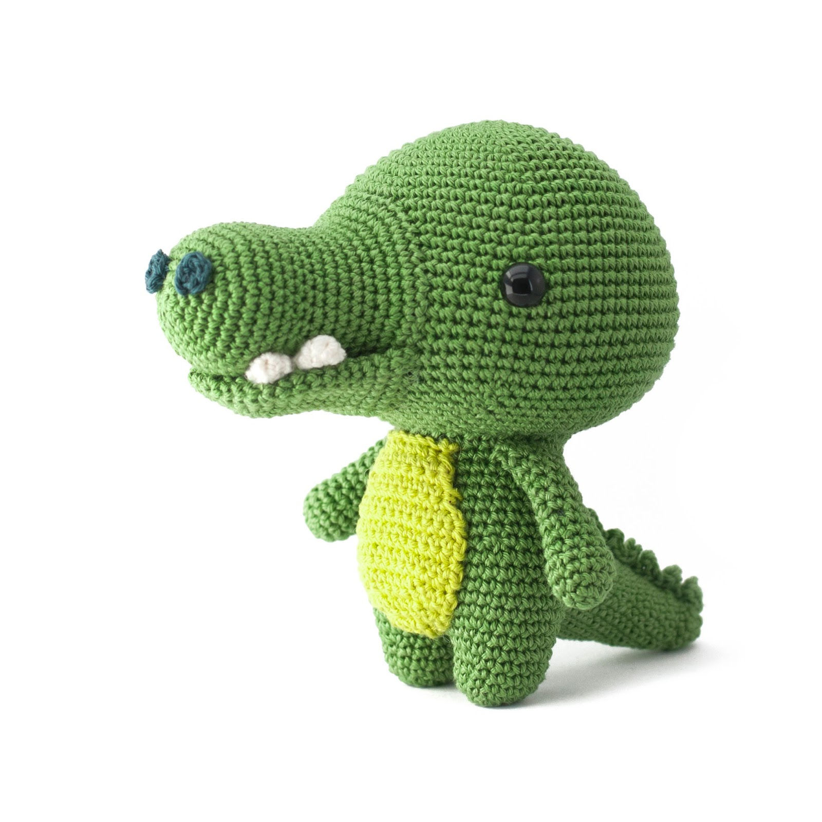 Amigurumi Alligator Pattern : Toy Patterns by DIY Fluffies : Toto the Crocodile ...