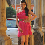 Kajal Agarwal in Pink Dress  Cute Photos