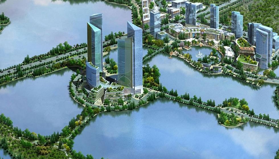 Rốn nước Thủ đô đã không còn với Gamuda City.