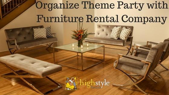 High Style Furniture Rentals