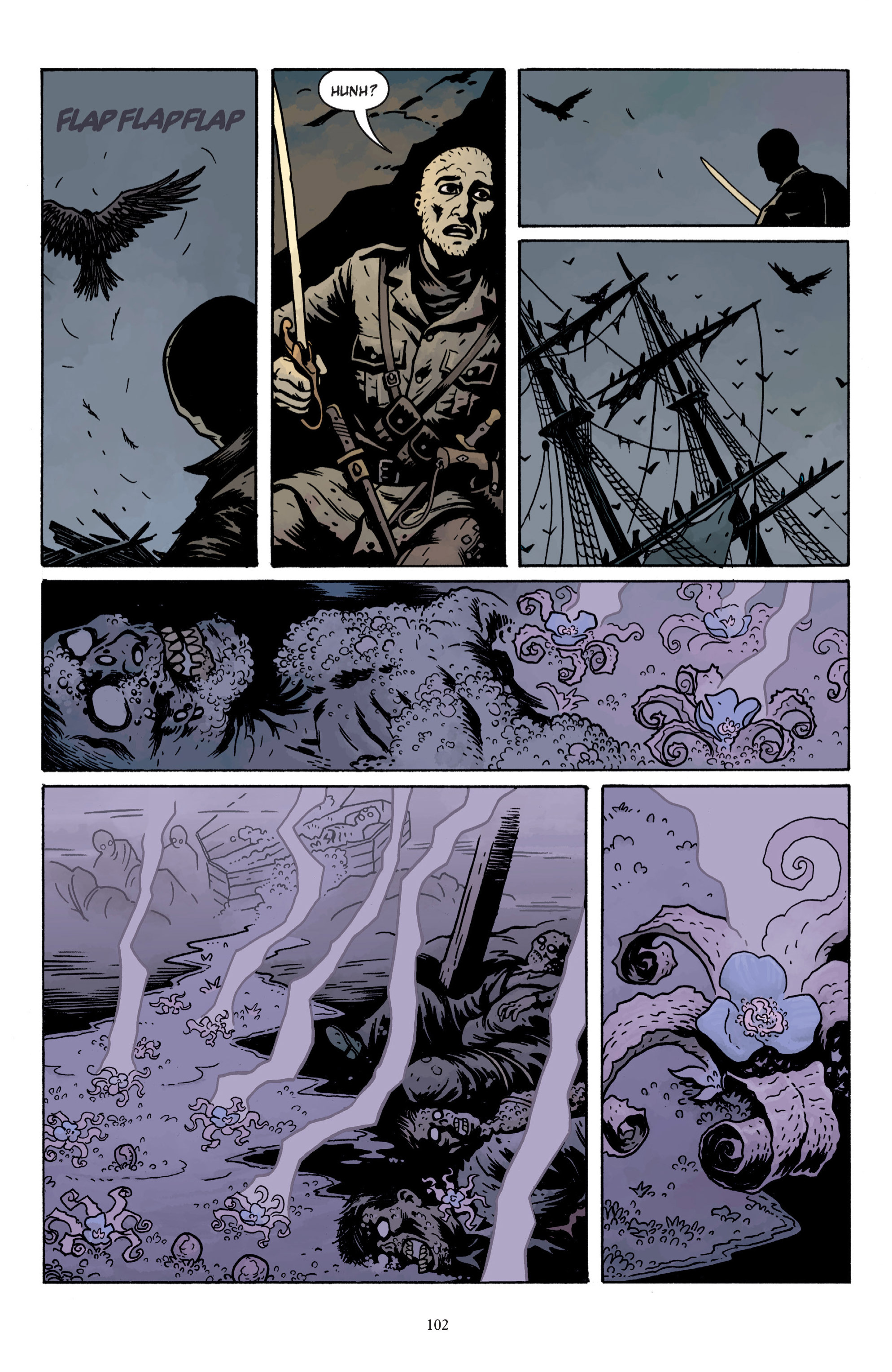 Read online Baltimore: The Plague Ships comic -  Issue # TPB - 102