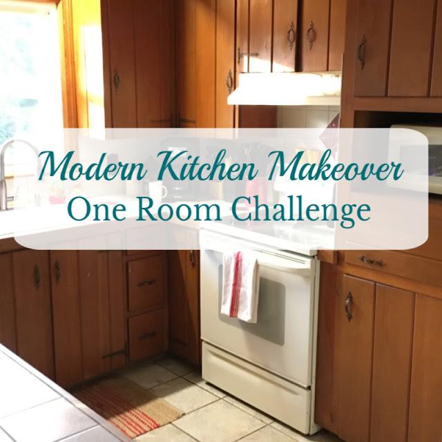 Modern Kitchen Makeover (One Room Challenge) - Week 1
