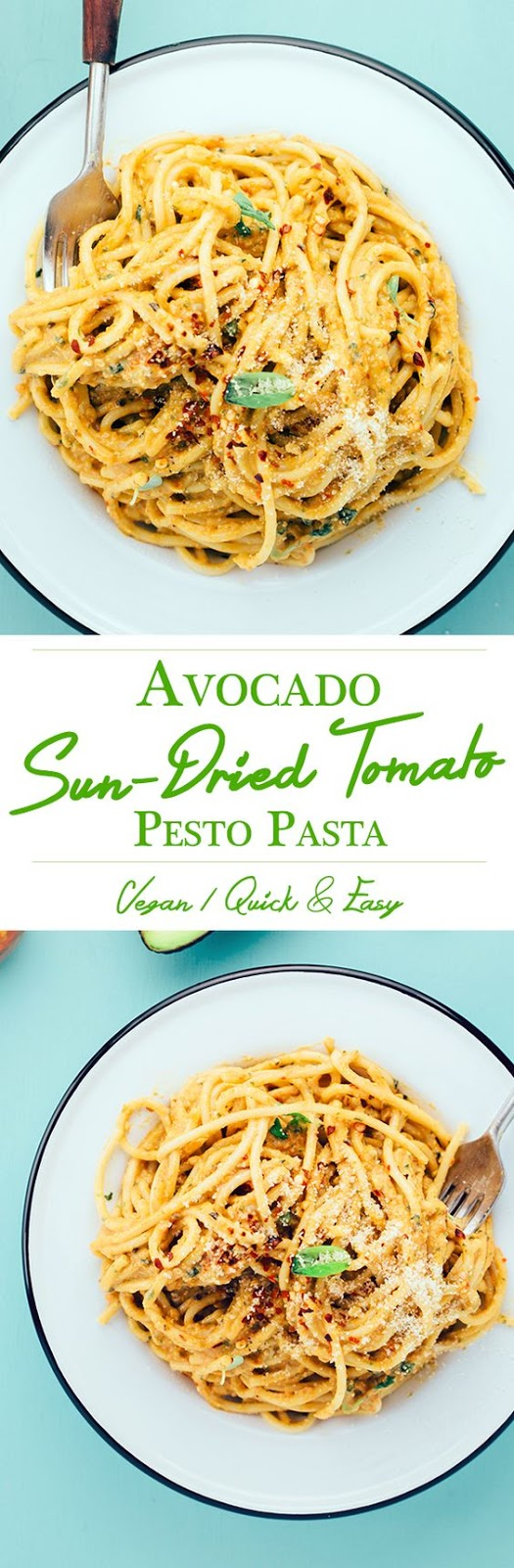 ★★★★☆ 7561 ratings | AVOCADO AND SUN-DRIED TOMATO PESTO PASTA #HEALTHYFOOD #EASYRECIPES #DINNER #LAUCH #DELICIOUS #EASY #HOLIDAYS #RECIPE #AVOCADO #SUNDRIED #TOMATO #PESTO #PASTA