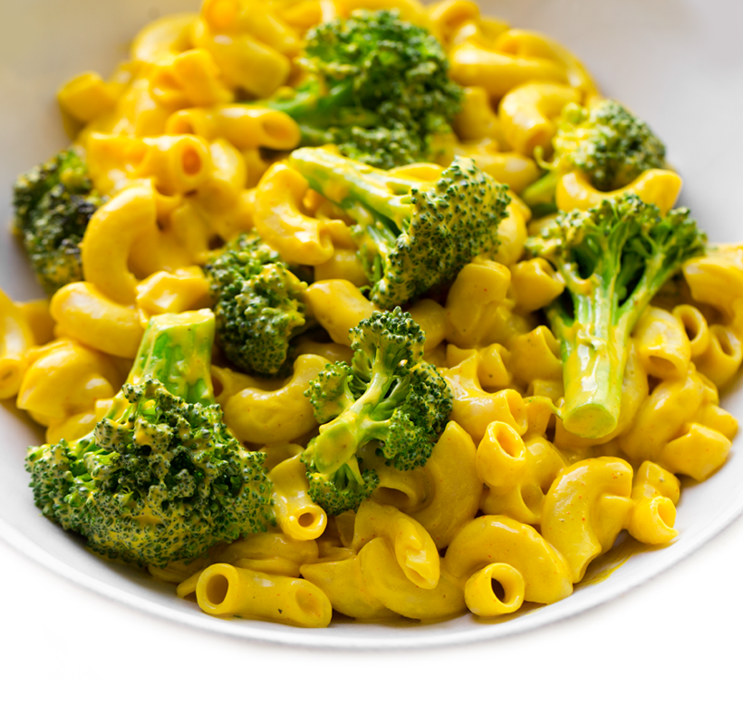 Best Vegan Mac 'n Cheese with Broccoli