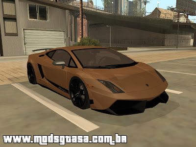 Lamborghini Gallardo LP570 4 Superleggera para GTA San Andreas