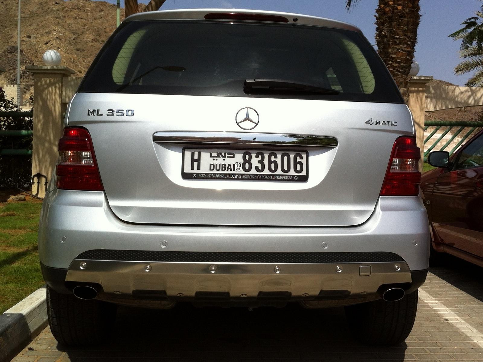 Vehicle Registration Plates Of Bmw X6 Amp Mercedes Ml Dubai