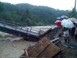 Polres Biak Numfor Selidiki Ambruknya Jembatan Sarwa