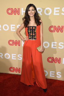 Victoria Justice in CNN Heroes