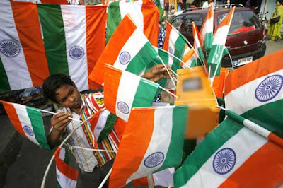 Indian Flags, Plastic-made Indian flags, National Flag of India, Government of India, Indian Nationla Flags