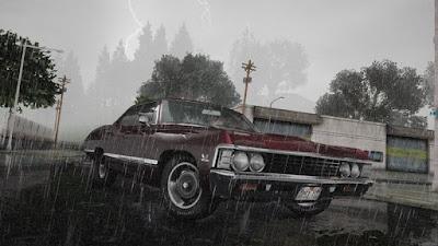 gta sa san mod gráficos hd realistas enb series ultra chuva