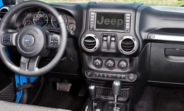 2019 Jeep Wrangler interior