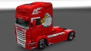 Scania RJL Polish Eagle skin