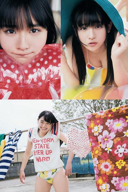 Nana Asakawa 浅川梨奈 Young Animal No 15 2017 Photos