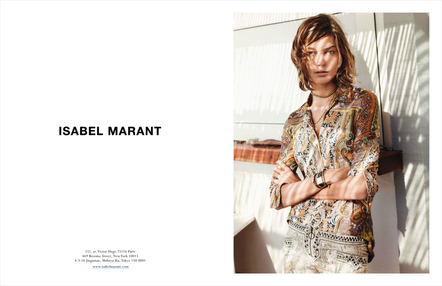 Isabel Marant Model Approved Daria Werbowy The Face Of Celine And