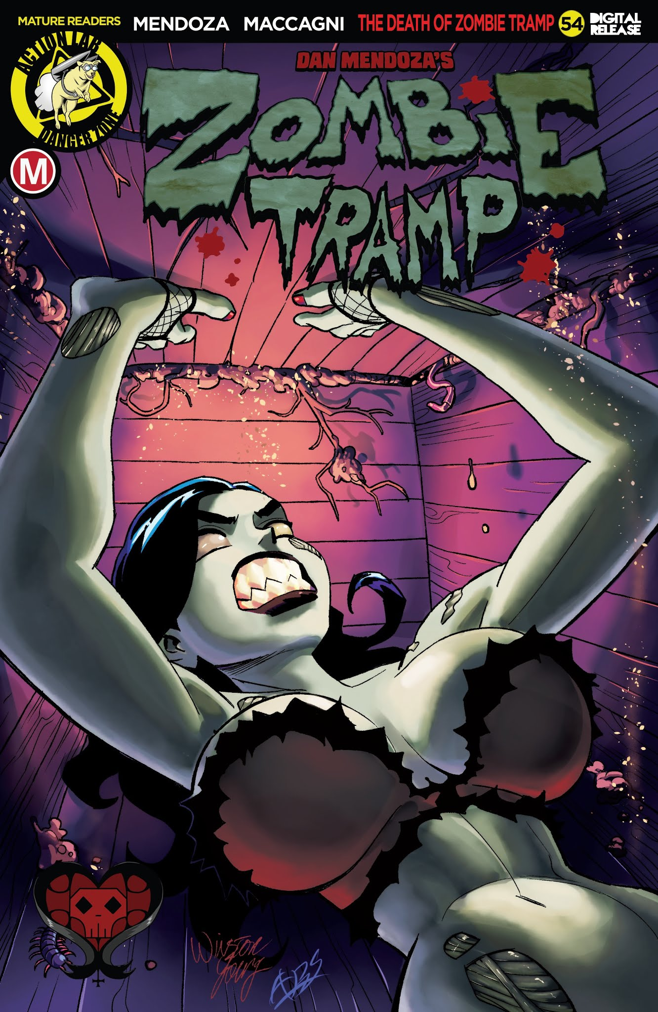 Zombie Tramp (2014) 54 Page 1