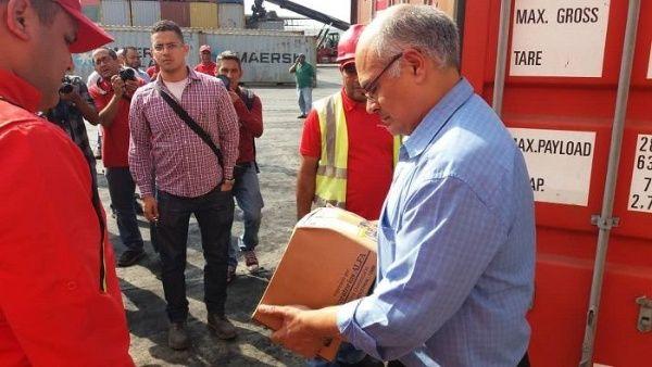 Arriban a Venezuela 933 toneladas de insumos médicos