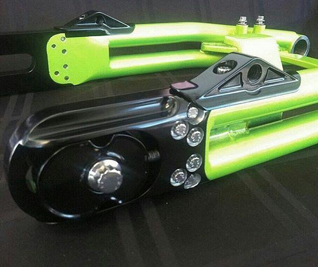 Chassis Design Company: DYNA MONSTER ENERGY BIKE SWANG-ARM