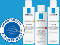 Logo Soddisfatti o rimborsati con shampoo Kerium di La Roche Posay