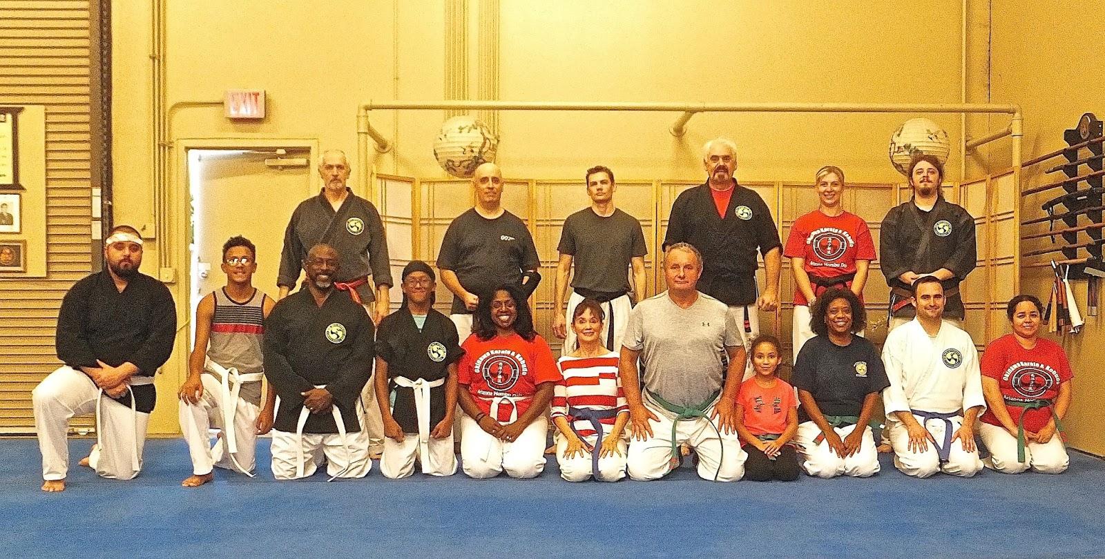 adult karate classes in arizona