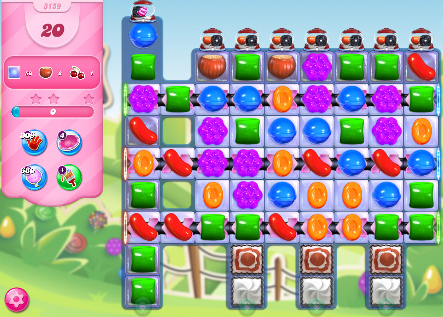Candy Crush Saga level 3159