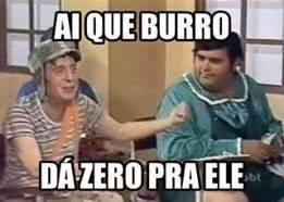 Imgs 4 facebook: Ai que burro dá zero pra ele